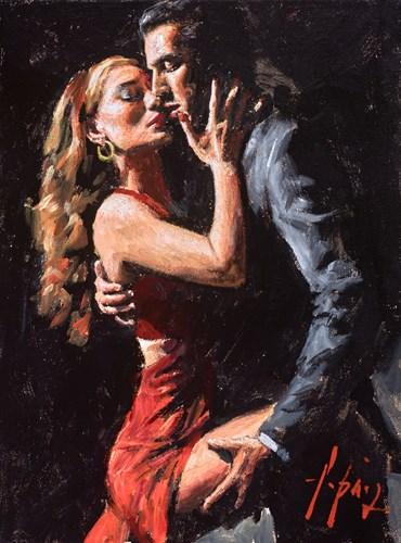 Image: ART00143877 (Study for Tango in San Telmo III (Red Dress))